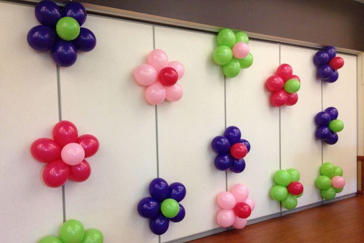 Оформление праздника воздушными шарами в Москве недорого